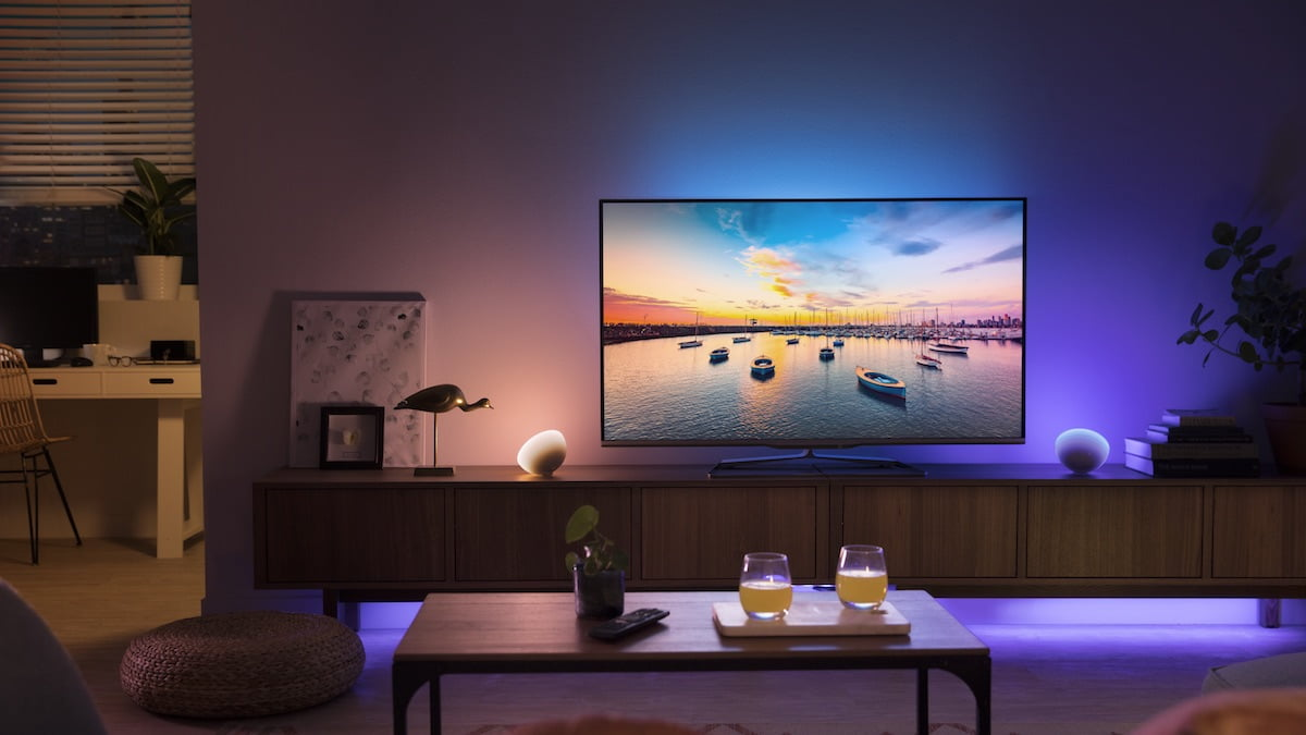 The Philips Hue Sync app makes all your media immersive.