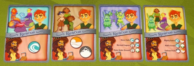 The Neverland Rescue rescue cards