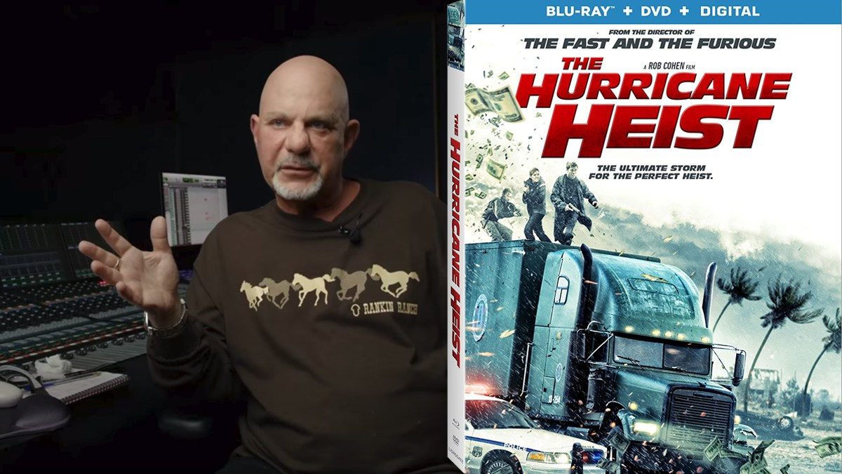 Rob Cohen Interview for 'The Hurricane Heist'