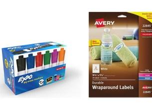 Geek Daily Deals 060718 dry erase markers waterproof labels