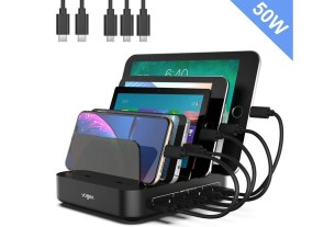 Geek Daily Deals 042919 5 port device charger