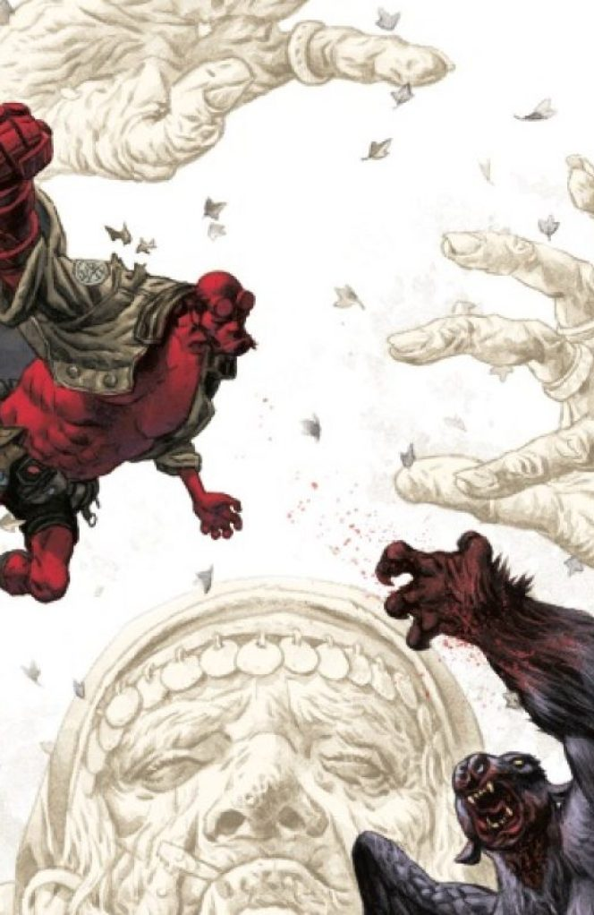 ′Hellboy and the B.P.R.D.: the Beast of Vargu′