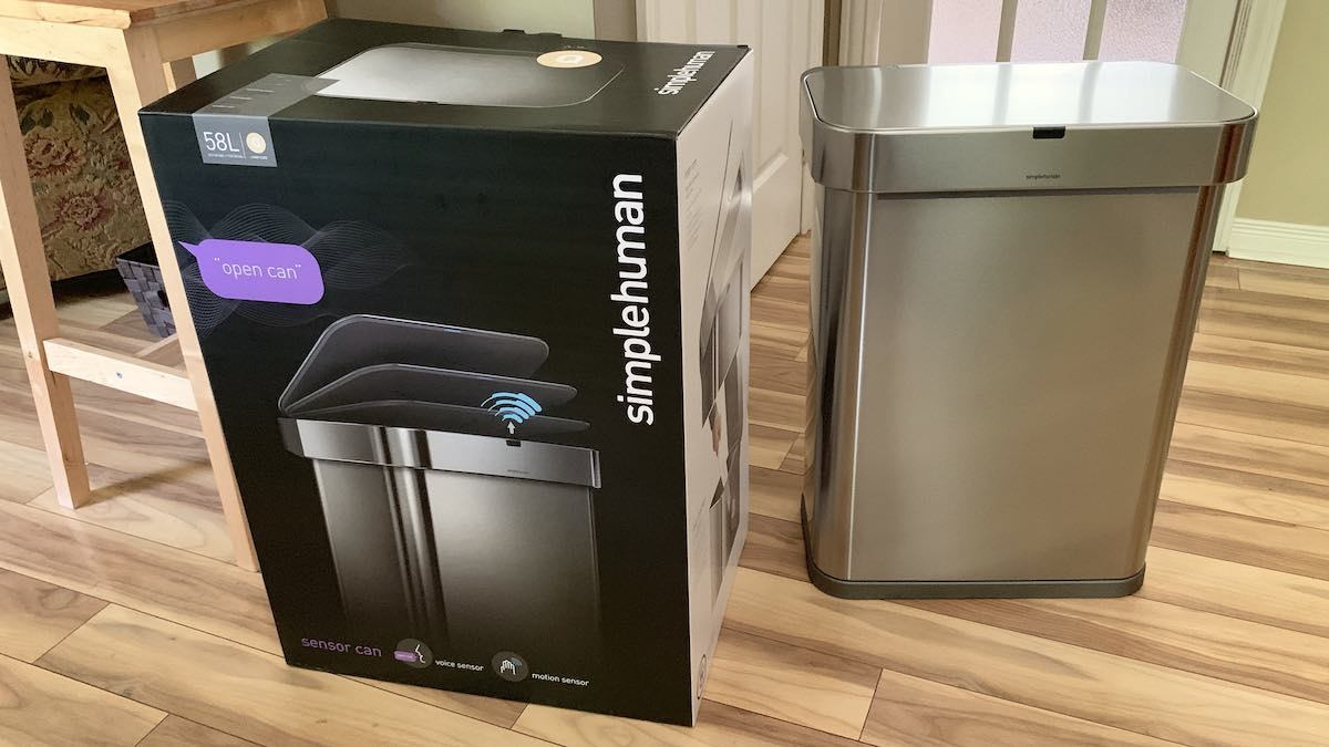 Simplehuman sensor can review