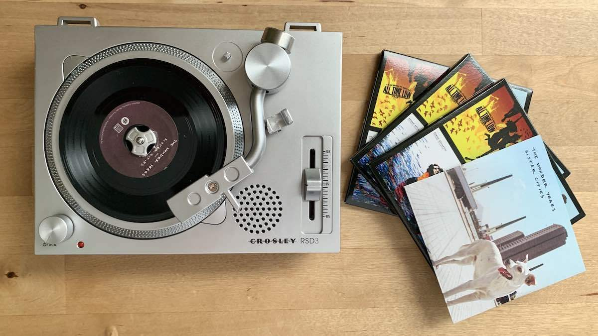 Crosley RSD3 and 3-inch records