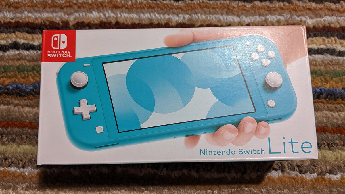 switch lite box