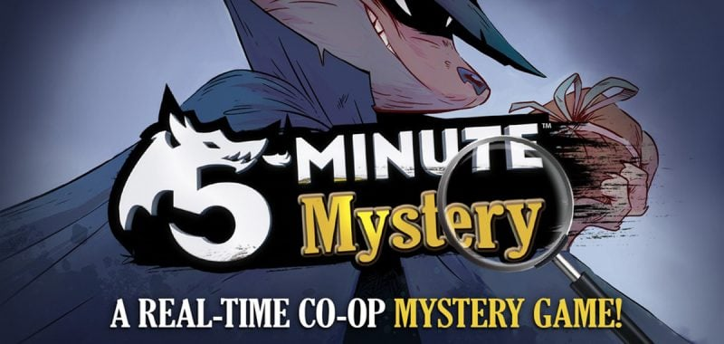 5-Minute Mystery banner
