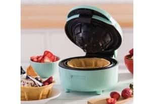 Geek Daily Deals 121219 waffle bowl maker