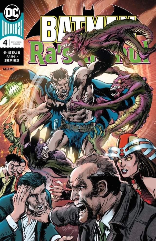 Batman vs. Ra's Al Ghul #4