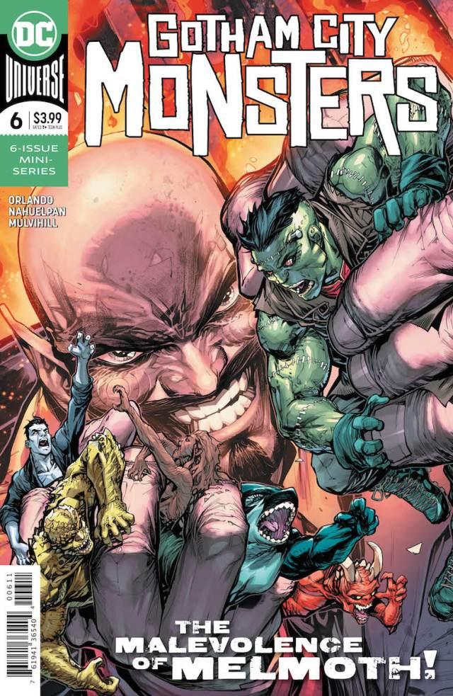 Gotham City Monsters #6