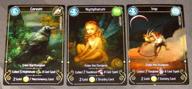Lizard Wizard Familiar cards