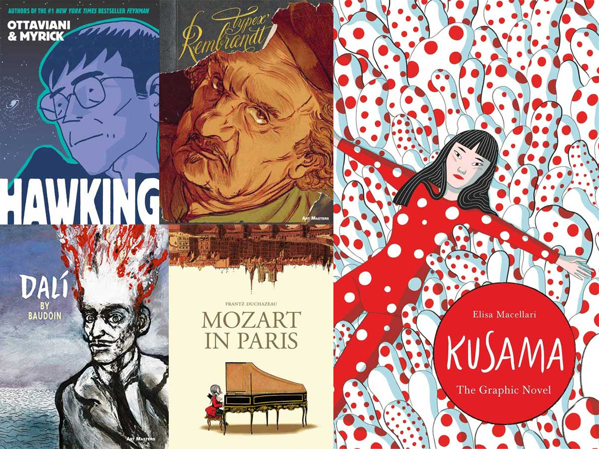 Stack Overflow: Comic Book Biographies
