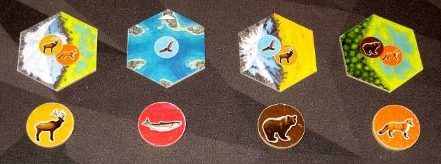 Cascadia tile options