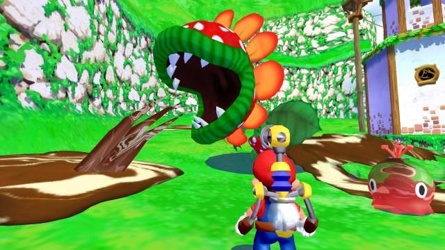Super Mario Sunshine screenshot 2
