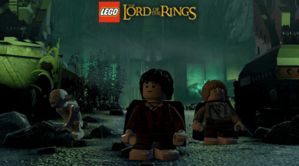 My Precious: Adventures with the Lego Lord of the Rings Video Game