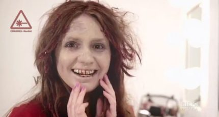 Doctor Who's Karen Gillan As The Zombie Spokesmodel For z'Ombéal Skin Care
