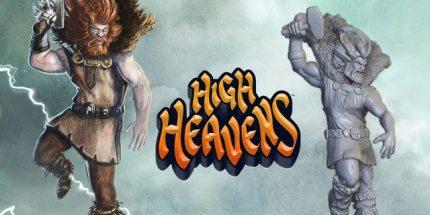 High Heavens Board Game Pits Norse Gods vs. Greek Gods