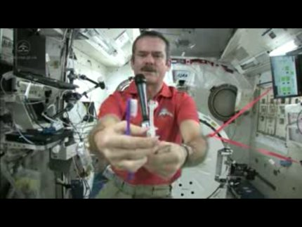 Brushing Your Teeth in Space