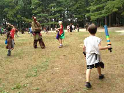 """Every Child Is a Hero"": Send Your Kid to LARP Camp This Summer"