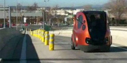 Car Runs on Compressed Air