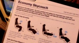 Skycouch Seat