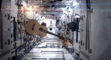 Best Music Video Ever: Commander Chris Hadfield Covers Space Oddity — in Space