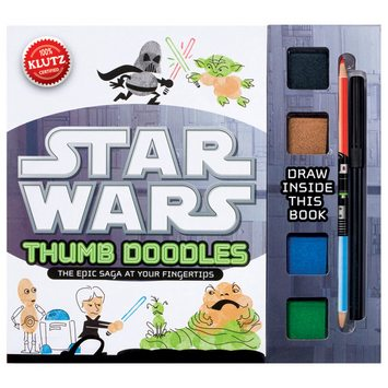 May the Force Be With Your Thumb Doodles