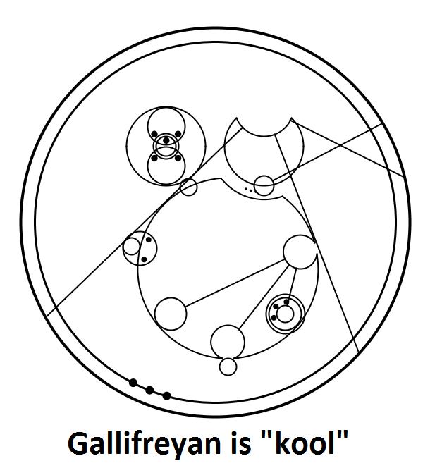 whovians rejoice  learn gallifreyan now