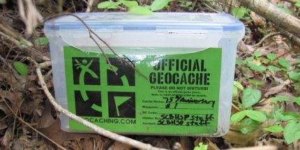 Have Geeklets, Will Travel: Geocaching