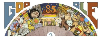 Google Doodle Pays Tribute to Maurice Sendak on His 85th Birthday