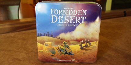 It's No Mirage — Forbidden Desert Is Finally Here!