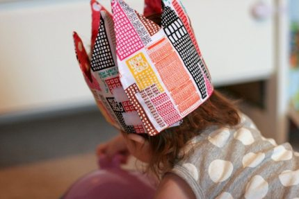 How to Make a Fabric Crown
