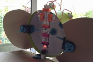 The littleBits in place