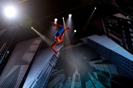 Swing Into an Amazing Night With Spider-Man: Turn Off The Dark