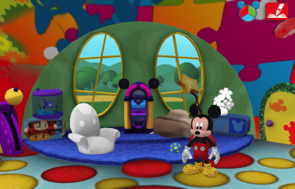 It's Fun Inside Mickey Mouse Clubhouse Paint and Play