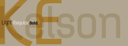 This Week's Free Font: Kelson