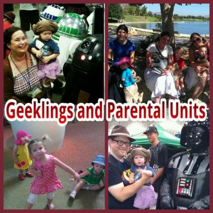 What It's Like To Meet Other Geek Parents
