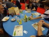 Asmodee Games was selling a gorgeous deluxe version of Takenoko that included oversized wooden bits.