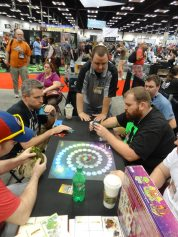Gravwell, from Cryptozoic Games, was another hit of Gen Con this year, but I didn't get a chance to try it out yet.