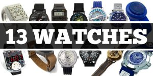 13 Geeky Watches