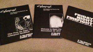 Cyberpunk RPG manuals