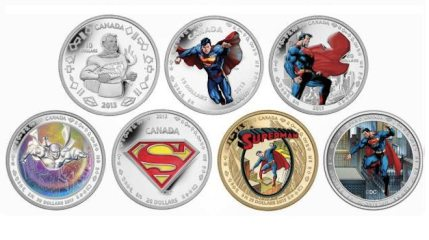 Royal Canadian Mint Releases Superman 75th Anniversary Coin Sets