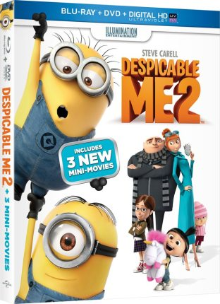 Sneak Peek: Despicable Me 2 Minions Get 3 New Mini-Movies!