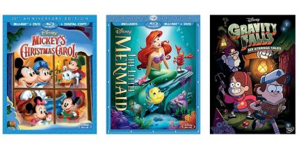 Celebrate the Holidays With Disney's Best on DVD/Blu-Ray
