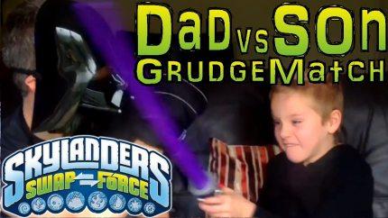 Skylanders Swap Force Dad and Son Battles Every Weekend