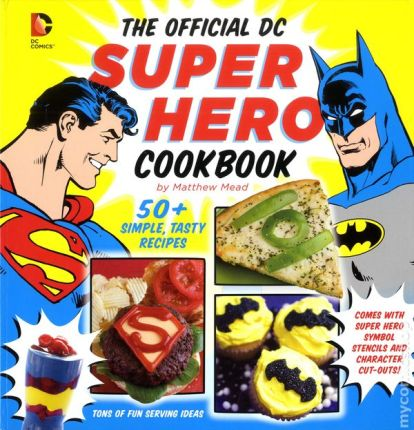 Baking DeathMatch: The Easy-Bake Oven versus the Super Hero Cookbook