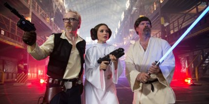 Tonight: The MythBusters (Awesomely) Tackle Three Star Wars Myths!