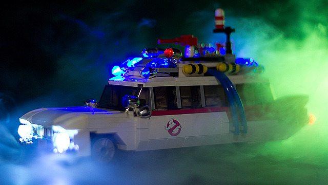 LEGO Announces Ghostbusters Ectomobile Set
