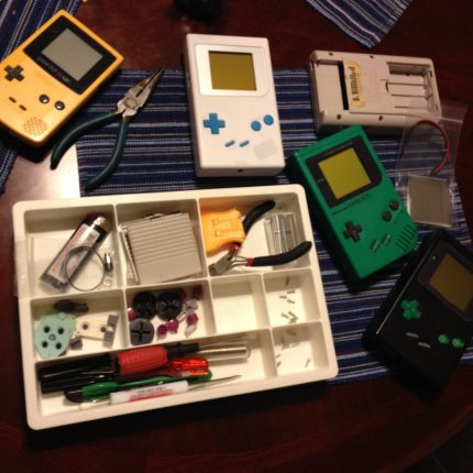 How I Learned to Stop Worrying and Mod Game Boys