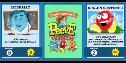 Help Fund Grammar Girl's Peeve Wars