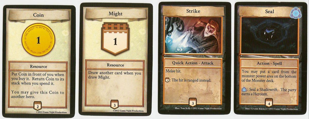 Shadowrift basic cards